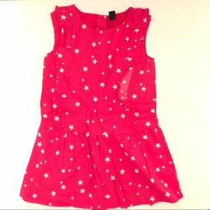 babyGap Toddler Star Print Romper Pink Size 3